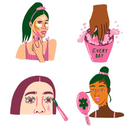 Makeup's Hard!