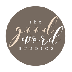 TheGoodWordStudios_ Business Card + Logo