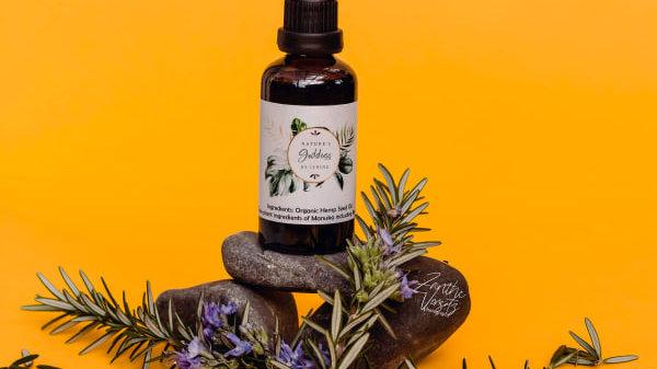 Manuka infused Hemp Seed Oil