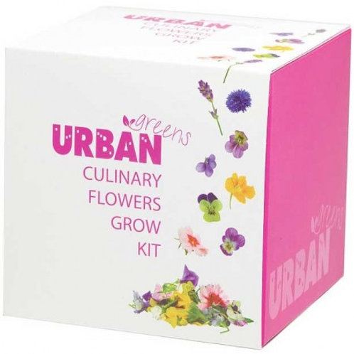 UrbanGreens Grow Kit - Culinary Flowers