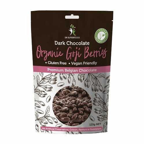 Dr Superfoods Organic Goji Berries Dark Chocolate