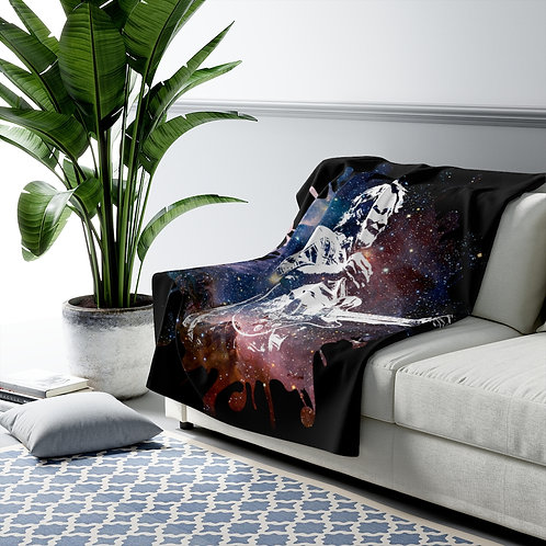 Cosmic JB Sherpa Fleece Blanket
