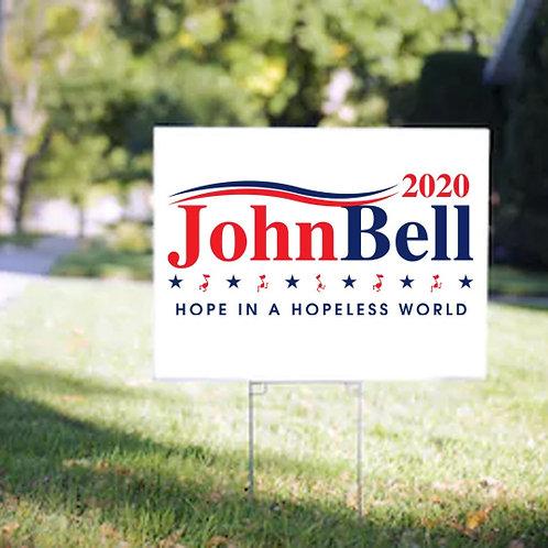 JB 2020 Yard Sign
