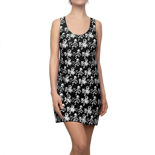 Note Eaters Everywhere Racerback Dress