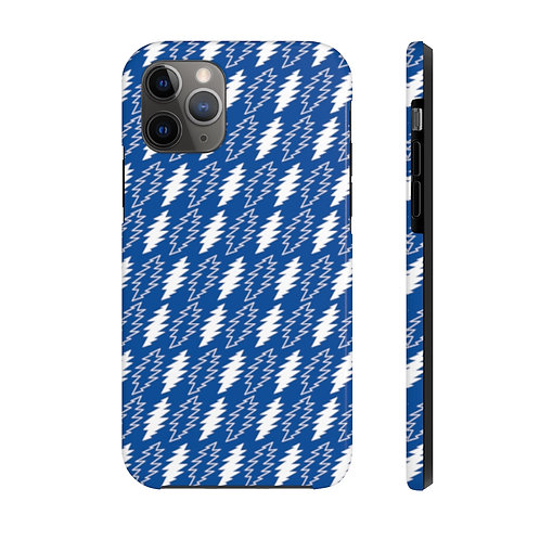 Bolts Blue Phone Case