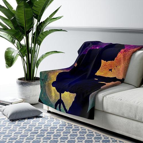 Cosmic Mikey Sherpa Fleece Blanket