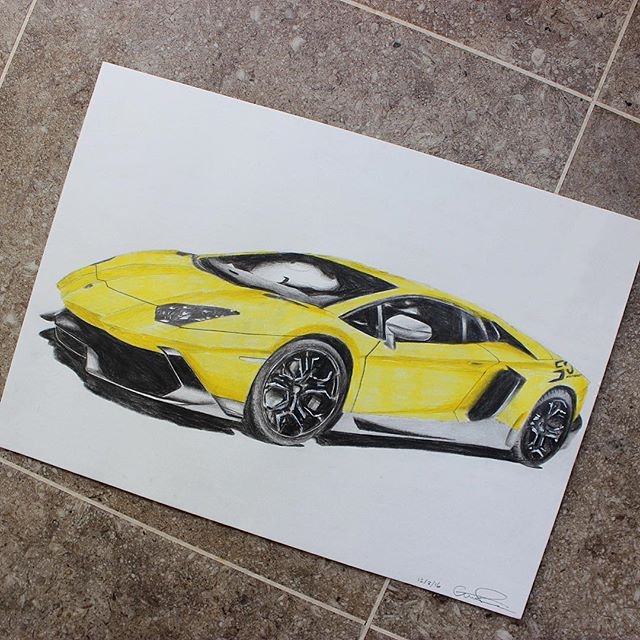 Lamborghini Aventador 50th Commissio