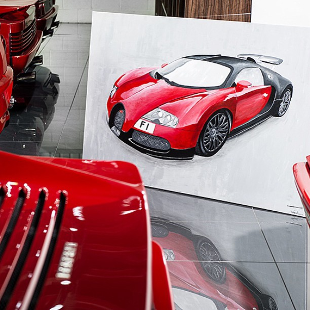 Afzal Kahn's Commissioned Bugatti