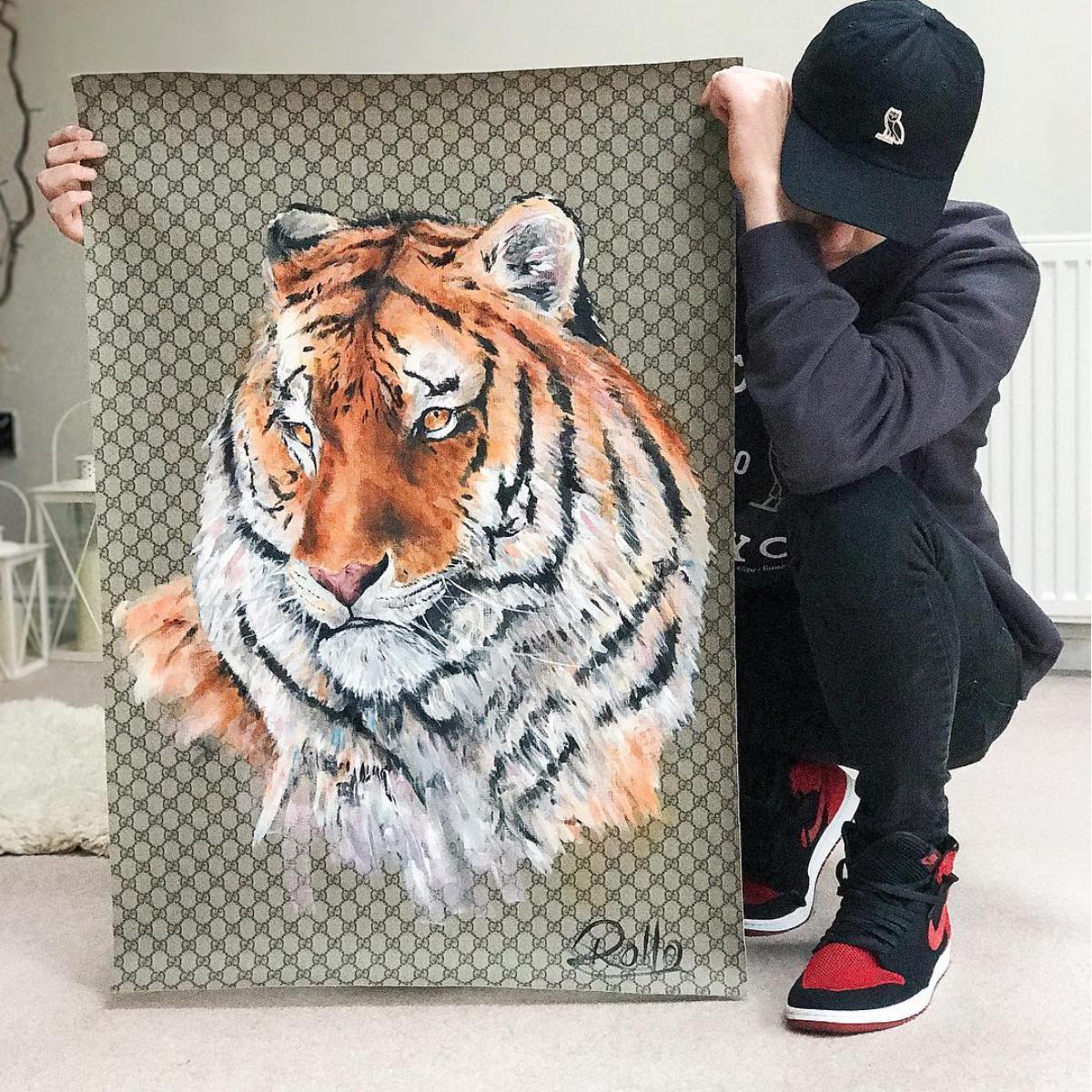 Gucci Tiger.