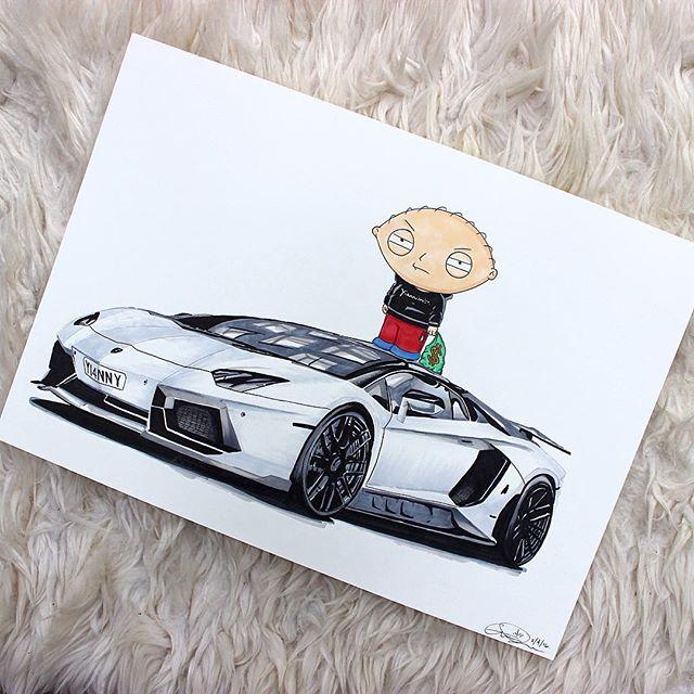 Yiannimize Lamborghini Aventador