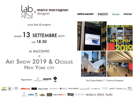 marco maccagnan & AD ART SHOW 2019 ~ New York City