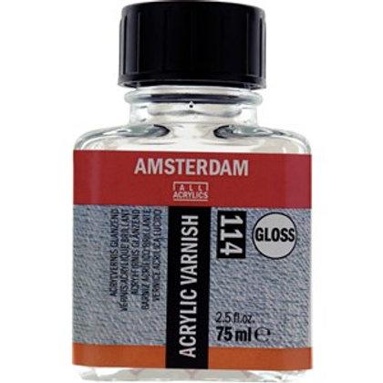 Botella de barniz acrílico brillante, 114 75 ml