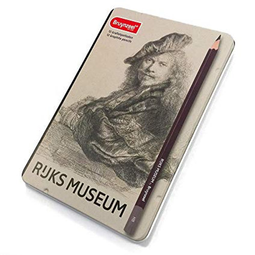 Caja de 12 Lápices grafito Ruks Museum