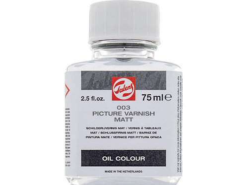 Barniz para óleo mate 75ml