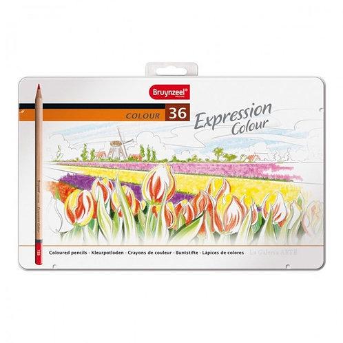 Caja de 24 lápices de colores bruynzeel