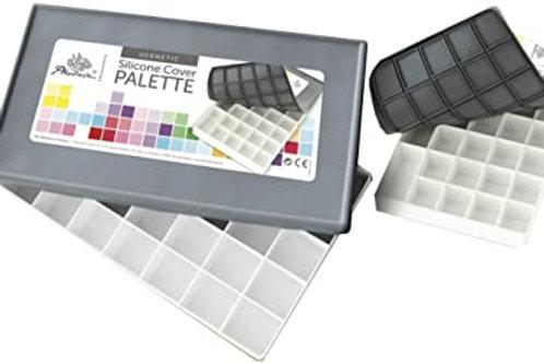 Paleta de plástico con tapa de silicona