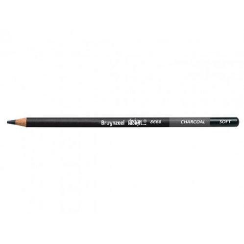 lápiz de carboncillo suave