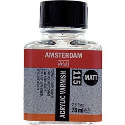 Botella de barniz acrílico mate, 115 75 ml
