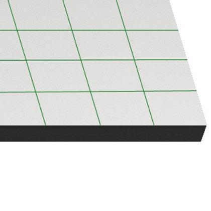 Cartón pluma de 10mm negro 100x200cm adhesivo