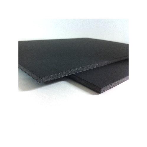 Cartón pluma negro sin adhesivo 100x200cm