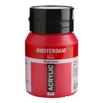 Bote de pintura acrílica Amsterdam 500ml magenta primario