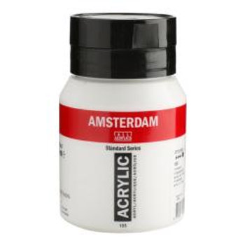 Bote de pintura acrílica Amsterdam 500ml blanco