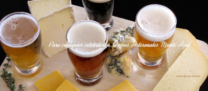Maridajes de cervezas nacionales con quesos nacionales