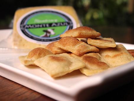 Galletas de queso Monterrey, para el cafecito o su favorito Cabernet Sauvignon