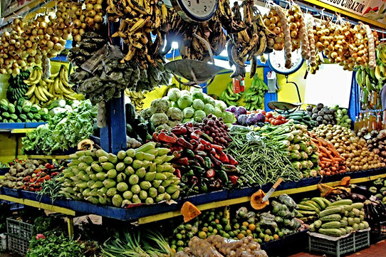Central Market, San Isidro