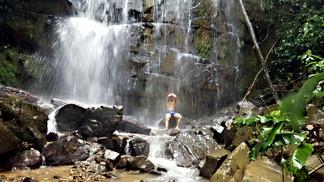 Monte Azul Waterfall