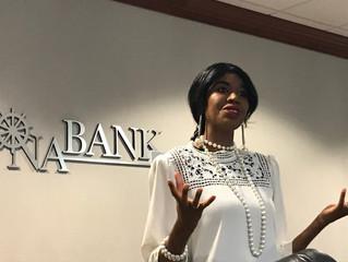 Fun at a Bank Meeting?