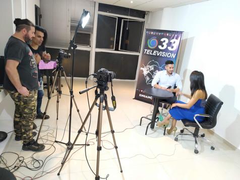 entrevista canal 33