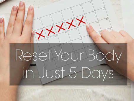 5 Day 'Fast with Food' is A Fast Track to Better Health