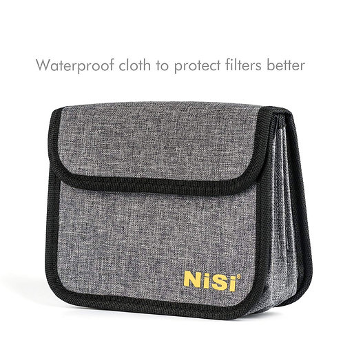 NiSi 100mm Filter Pouch for 4 Filters (Holds 4 Filters 100x100mm or 100x150mm