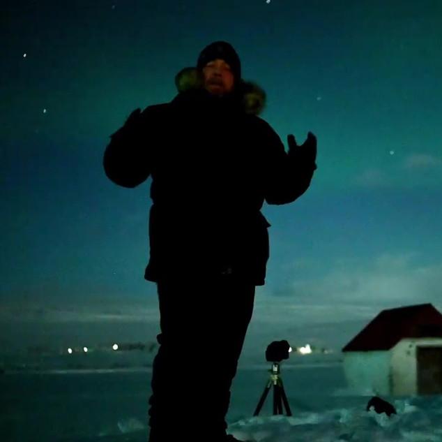 A stills shot from the video
