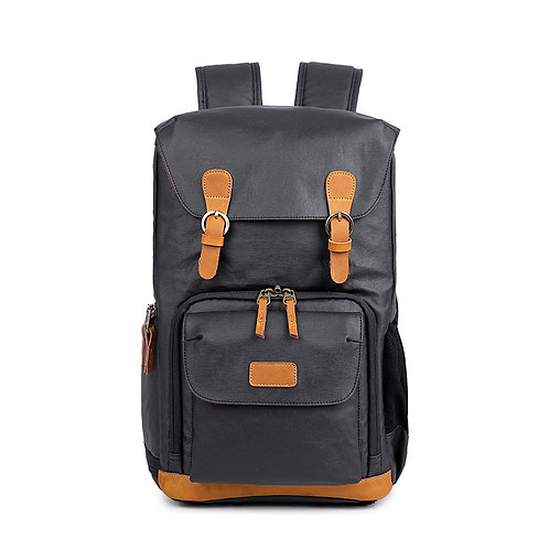 Wellington Waterproof Waxed Canvas Camera Backpack