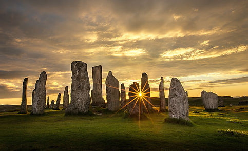 Calanish Stones - Evening Sun - wayne.jp