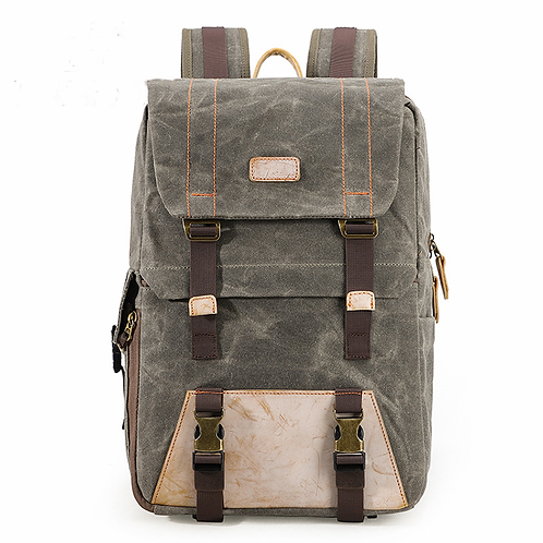 Winchester Waxed Canvas Camera Backpack