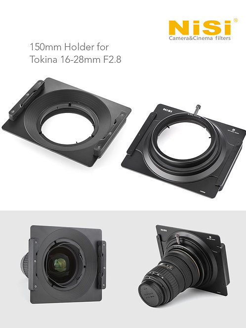 NiSi 150mm filter holder for Tokina 16-28 F2.8