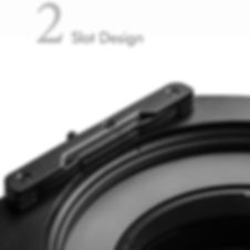 NiSi S5 Filter Slots