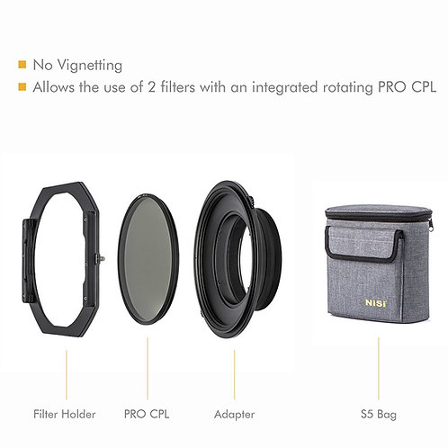 NiSi S5 150mm filter holder for Nikon 14-24mm