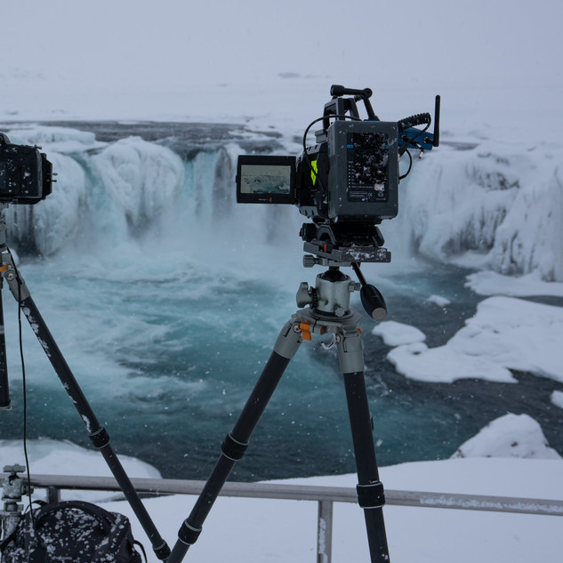 We used Fotopro tripods for both the stills and the filming.