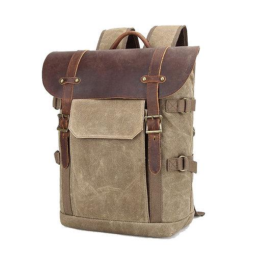 Windsor Waxed Canvas Camera Backpack