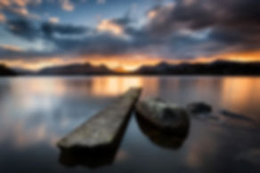 Isthmus bay sunset Lakes Polariser 6 sto