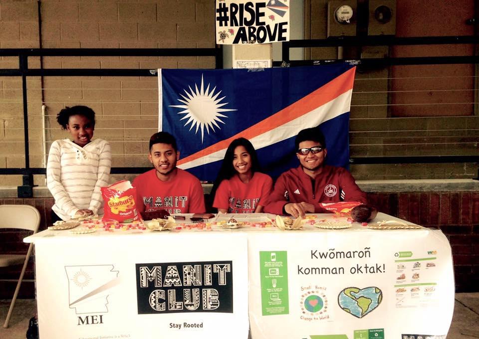 Manit Club members represent