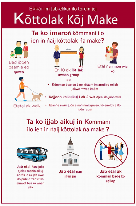 Social Dist Marshallese