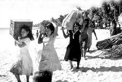 Evacuation at Bikini