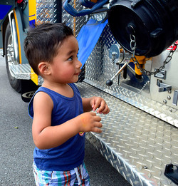 Playing with Fire trucks