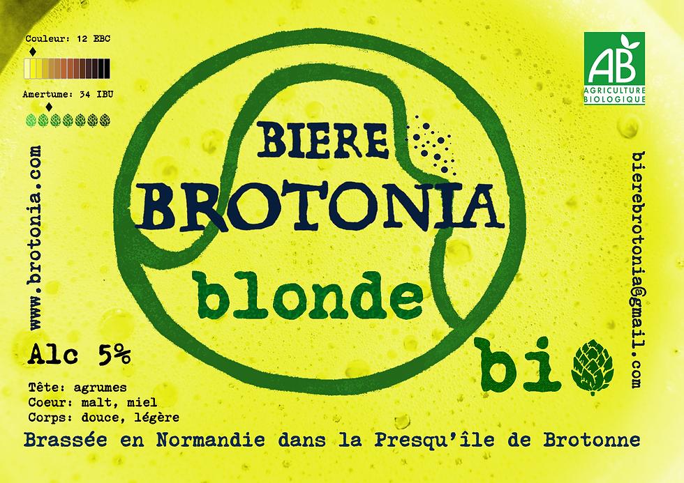 Nouveau présentoir Brotonia bière blonde