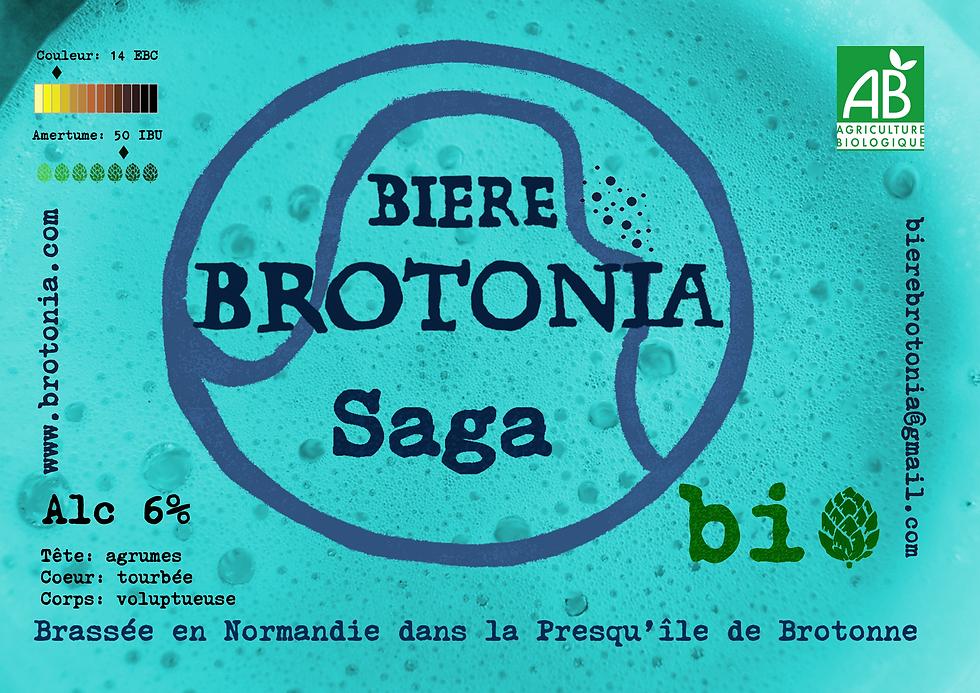 Nouveau présentoir Brotonia bière Saga.p